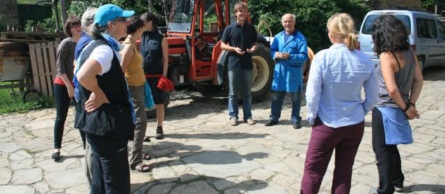 Obisk nemške zveze za nego krajine – DVL v Sloveniji