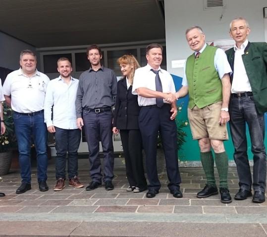 Visit of Municipality St. Margarethen an der Raab